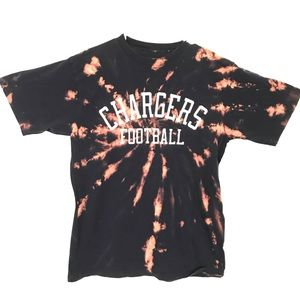 Custom Chargers tiedye T-shirt